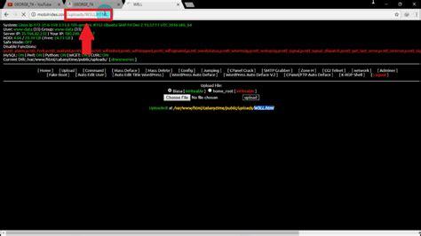 tutorial script deface cara mengupload script deface mudah via shell