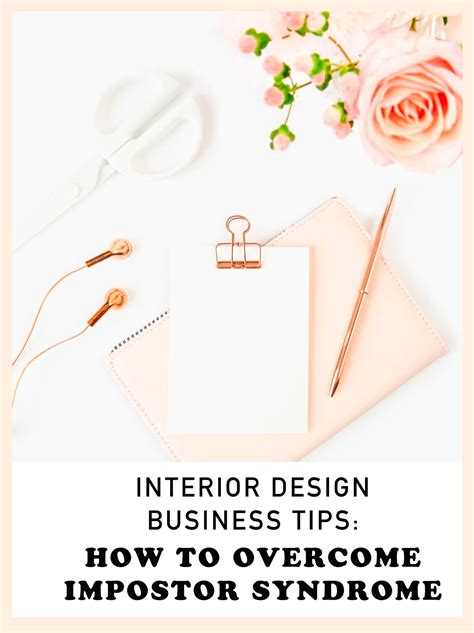 interior design business tips how to overcome impostor