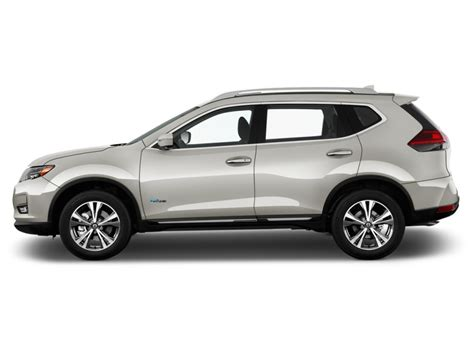 Image 2017 Nissan Rogue Fwd Sl Hybrid Side Exterior View