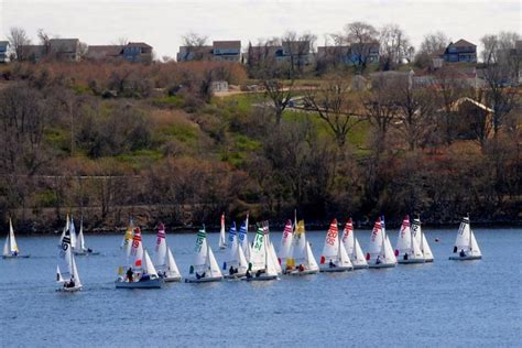 thames river state the stamford schools sailing team ended season with two