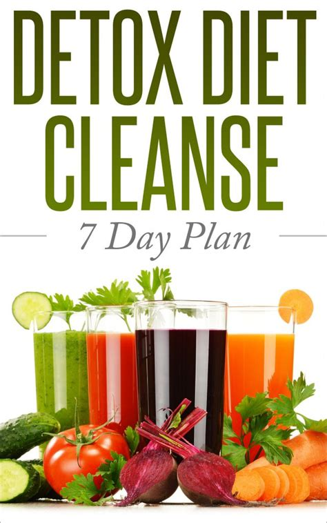 7 Day Junk Food Detox detox cleanse 7 day weight loss menu plan