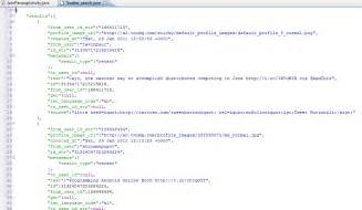 tutorial json html android json parsing with gson tutorial
