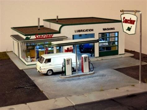 ho 3006: 1950s gas station