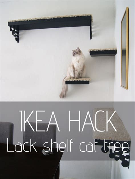 ikea hack a new cat tree tatiana s delights