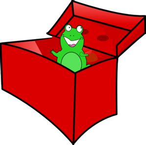 in clip frog in the box clip at clker vector clip
