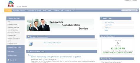 Intranet Portal Sharepoint Hr Portal Templates