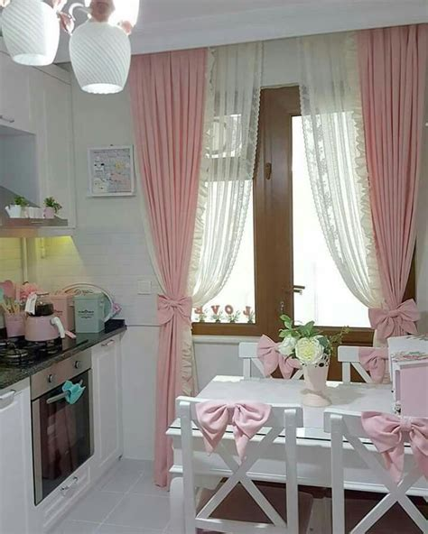 1000 ideas about pink kitchen curtains on pinterest