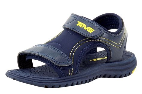 toddler teva sandals teva toddler boy s psyclone 6 fashion navy yellow sandals