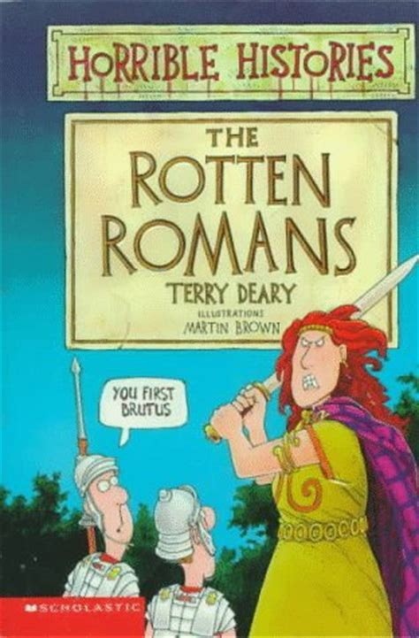 boudicca biography ks2 the rotten romans by terry deary reviews discussion