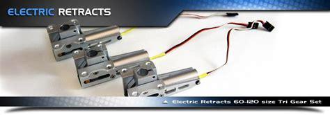 electric boat landing electric retractable landing gear for radio control