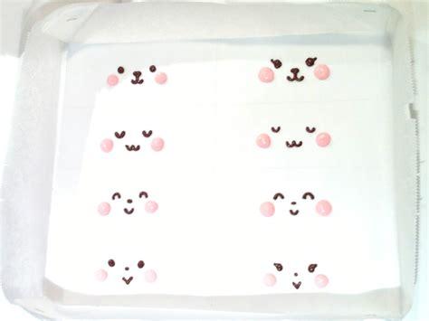 Roll Cake Rabbit bunny deco japanese sponge roll cake deco cake gt