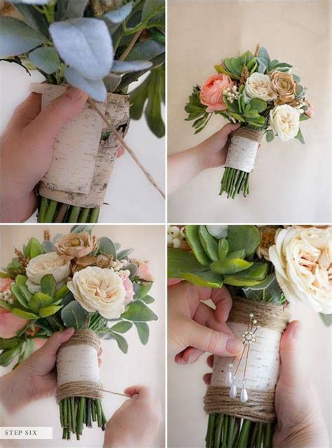 make your own centerpiece your own bouquet wedding inspiration