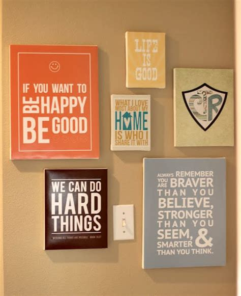 design own wall art quotes make diy quote art on canvas mod podge rocks