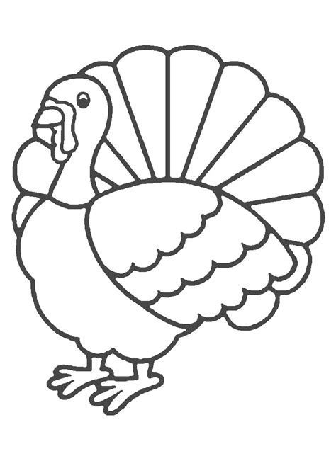 printable blank turkey free coloring pages of blank head clip art