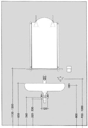 spiegelschrank in trockenbauwand montage nach ma 223 ba 241 o badezimmer b 228 der