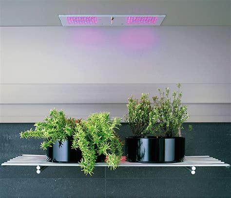 Integrated indoor edible and ornamental indoor gardens at eurocucina
