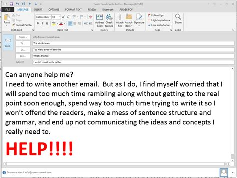 Business Letters In Email 3 ways to improve your business writing skills tips from