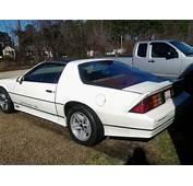 3rd Gen White 1986 Iroc Z Chevrolet Camaro For Sale