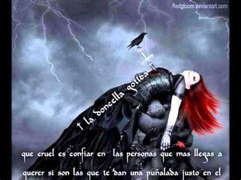 mensajes imagenes rockeras y goticas la dolcella gotica poemas y frases goticasa l s youtube