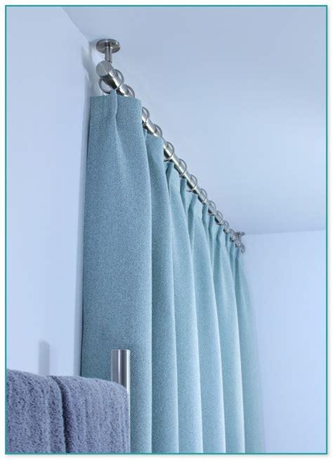 200 curtain rod 200 inch double curtain rod