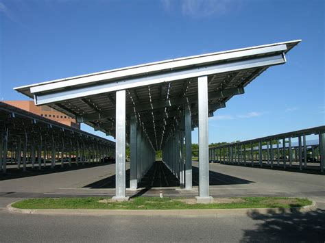Carport Structure by Solar Carports Commercial Solar Carport Design