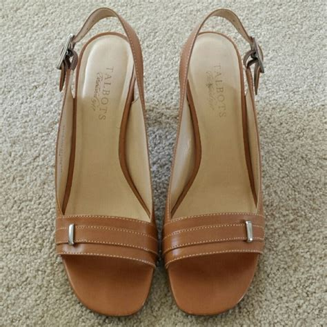 camel colored sandals 75 talbots shoes shoes camel colored from adrienne