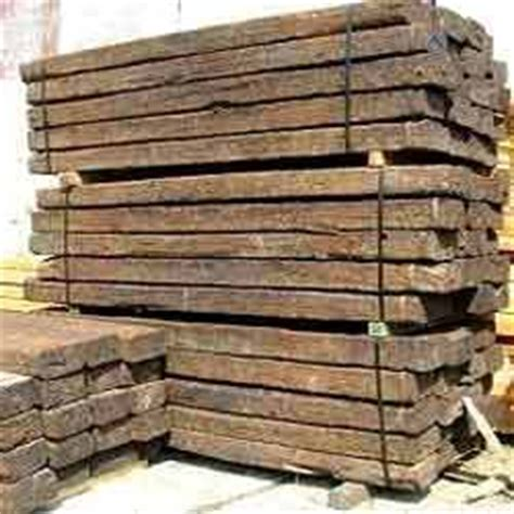 Wood Railway Sleepers by Railway Wooden Sleepers Suppliers Manufacturers Traders In India