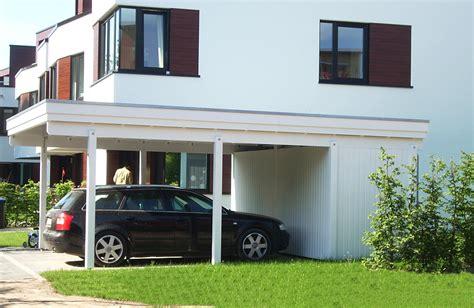 Carport Weiss Holz by Carport Wei 223 Holz My