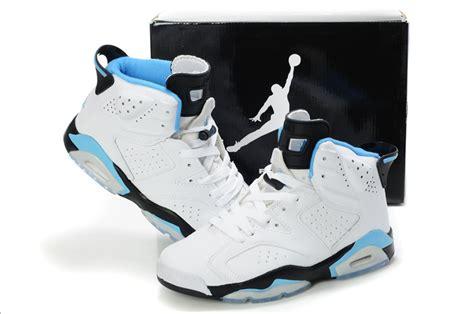 air retro 6 white light blue shoes aj286