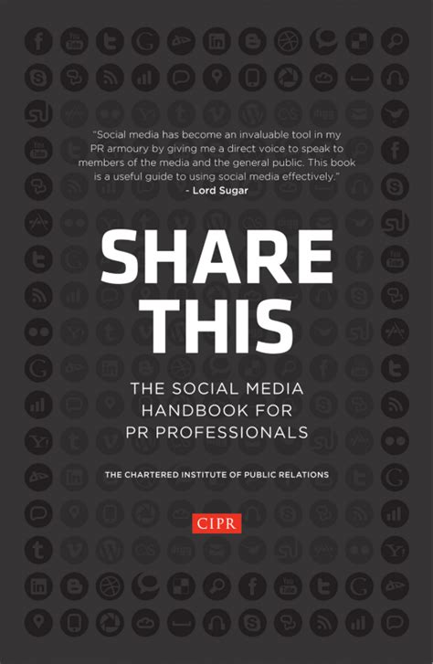 the handbook of social media books this the social media handbook for pr by the cipr