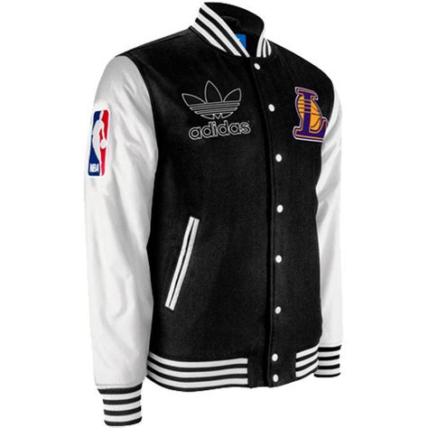 adidas new year wool jacket adidas los angeles lakers varsity button wool jacket
