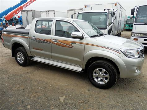 Toyota Up Hilux 2012 Toyota Hilux Up Pics 2 5 Diesel Manual For Sale