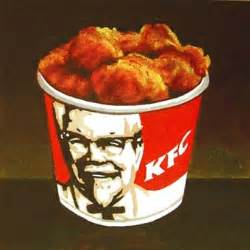 Kentucky Fried Chicken Kentucky Fried Chicken Original Painting By Artist Gerard