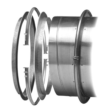 e z flange with barrel clamp 26 to 96 inch diameter