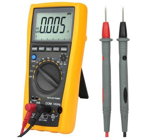 how to test a resistor with digital multimeter new realse vc99 3 6 7 auto range digital lcd voltmeter multimeter