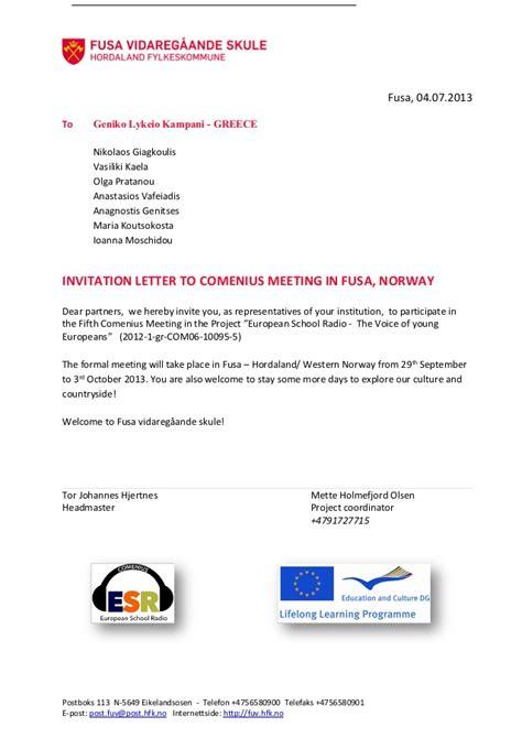 Invitation Letter Greece invitation letter for greece