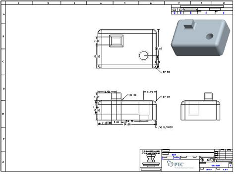 introduction to creating drawings in pro engineer