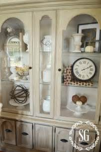 kitchen hutch decorating ideas 5 easy tips to style a hutch stonegable