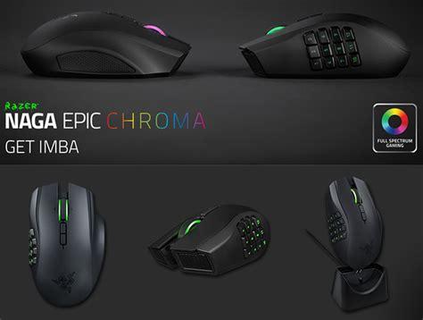Gaming Mouse Razer Naga Chroma Wired Wireless Mmo Gaming Mouse jual razer naga epic chroma wired wireless mmo laser