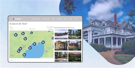 best real estate website best real estate website development for agents and
