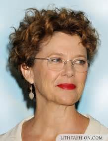 Short curly hairstyles for over 50 short haircuts over 50 with glasses