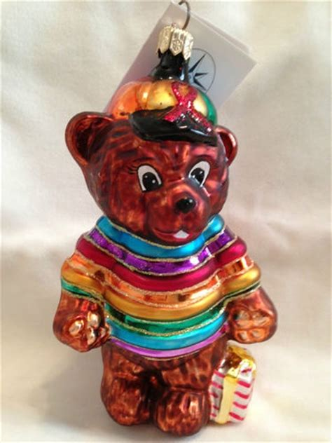 charitable christmas crafts radko 1999 quot cubby s rainbow quot aids charity ornament ebay christopher