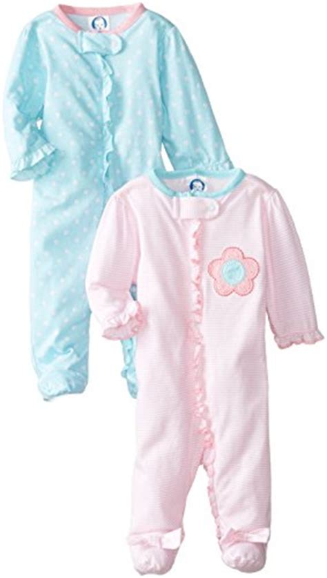 Zippered Baby Sleepers by Gerber Baby 2 Pack Zip Front Sleep N Play Toolfanatic