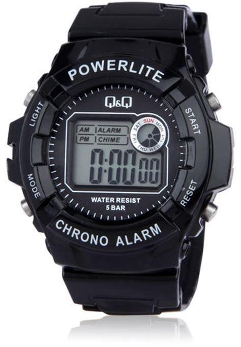 Q Q M051j003y q q by citizen m051j007y digital chronograph powerlite