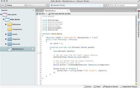xamarin android multiple layout xamarin la api para crear aplicaciones multiplataforma en
