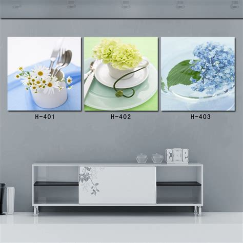 Aliexpress Com Buy 3 Piece Canvas Wall Art Painting Kitchen Canvas Wall Decor