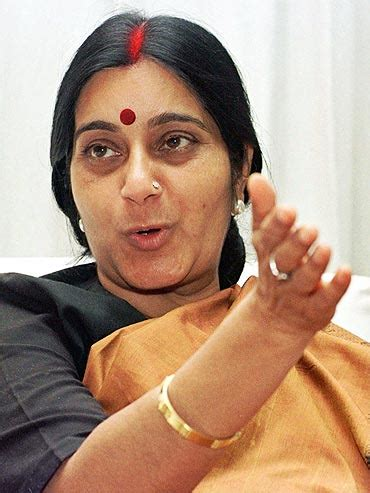 sushma swaraj wikipedia what did m m joshi mean bjp leaders clueless rediff com