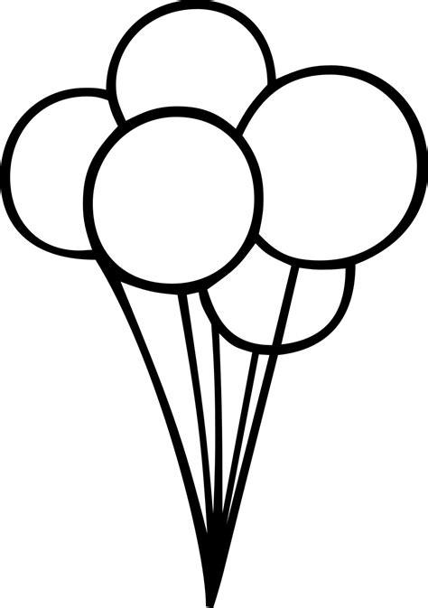 Black And White Balloons » Home Design 2017