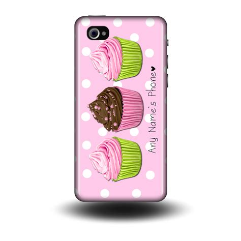 cupcake personalised phone cases