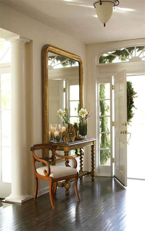 festive staircases and entryways traditional home